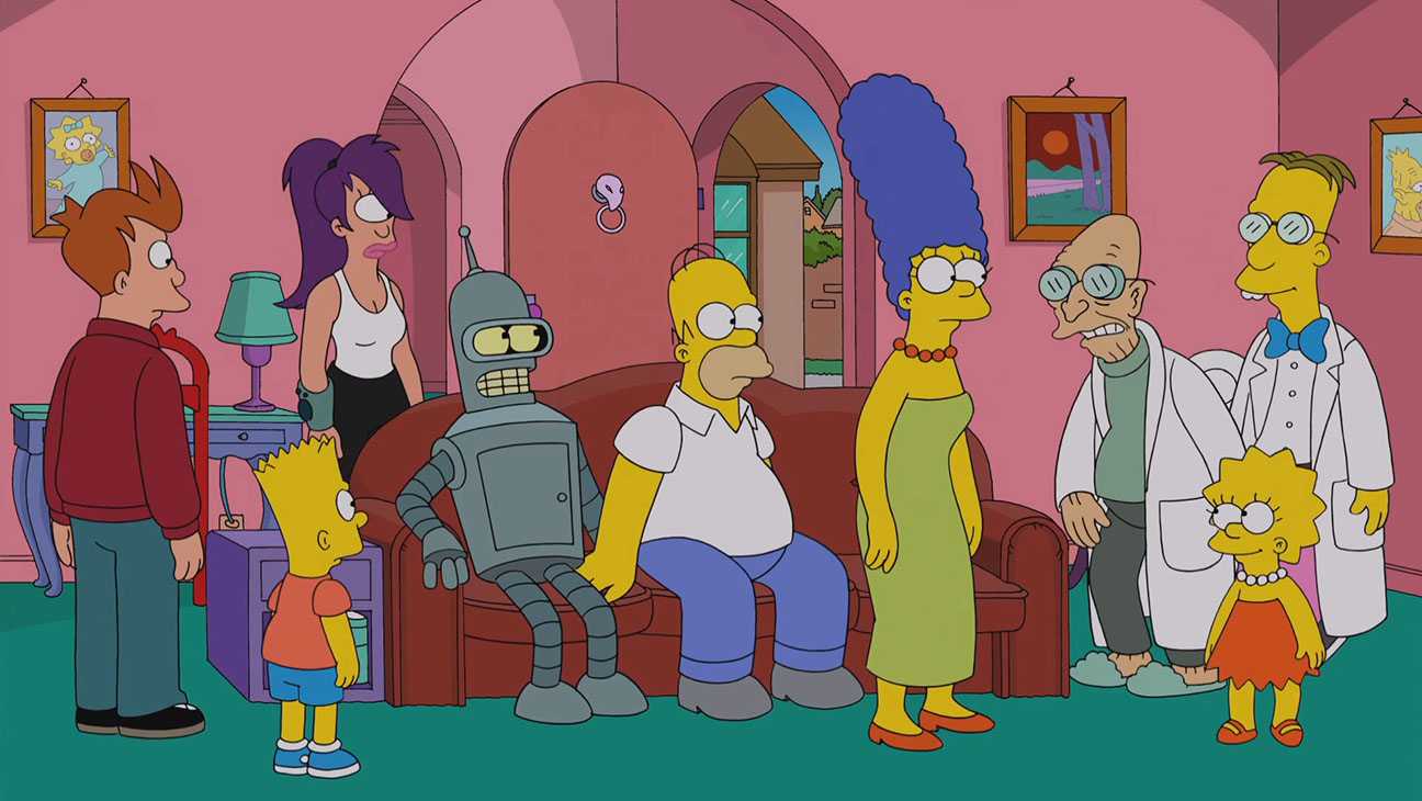 Futurama Meets the Simpsons Simpsorama Still - H 2014