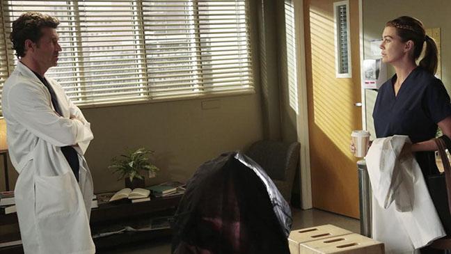 Grey's Anatomy Patrick Dempsey Ellen Pompeo - H 2014