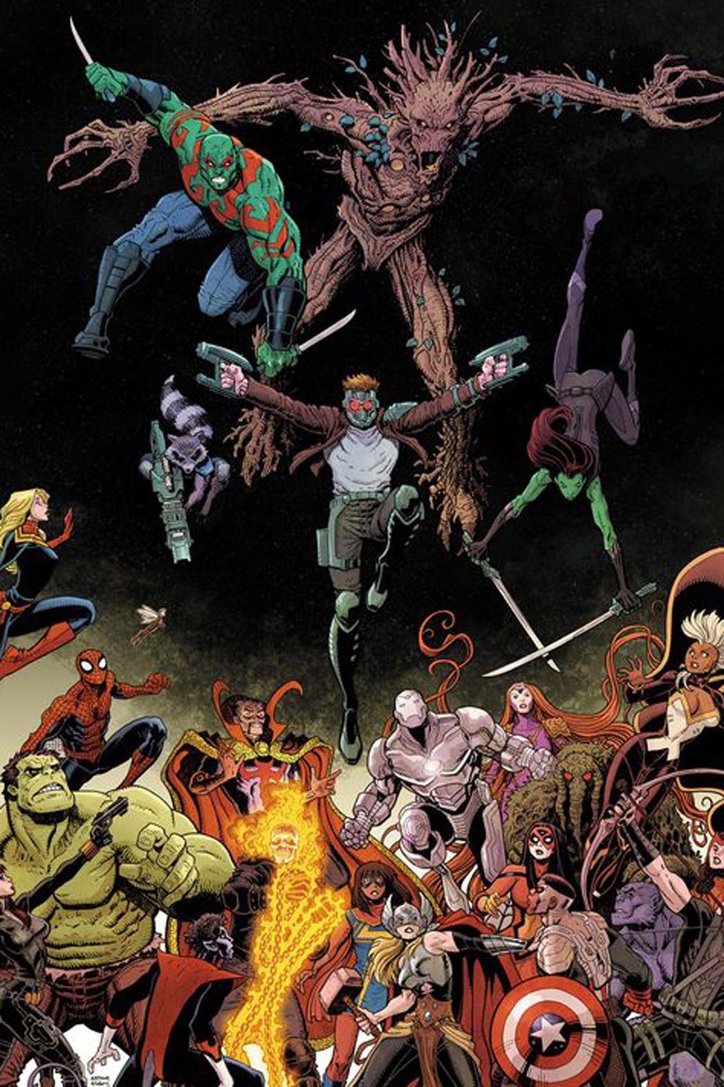 Guardians Team Up Cover - P 2014