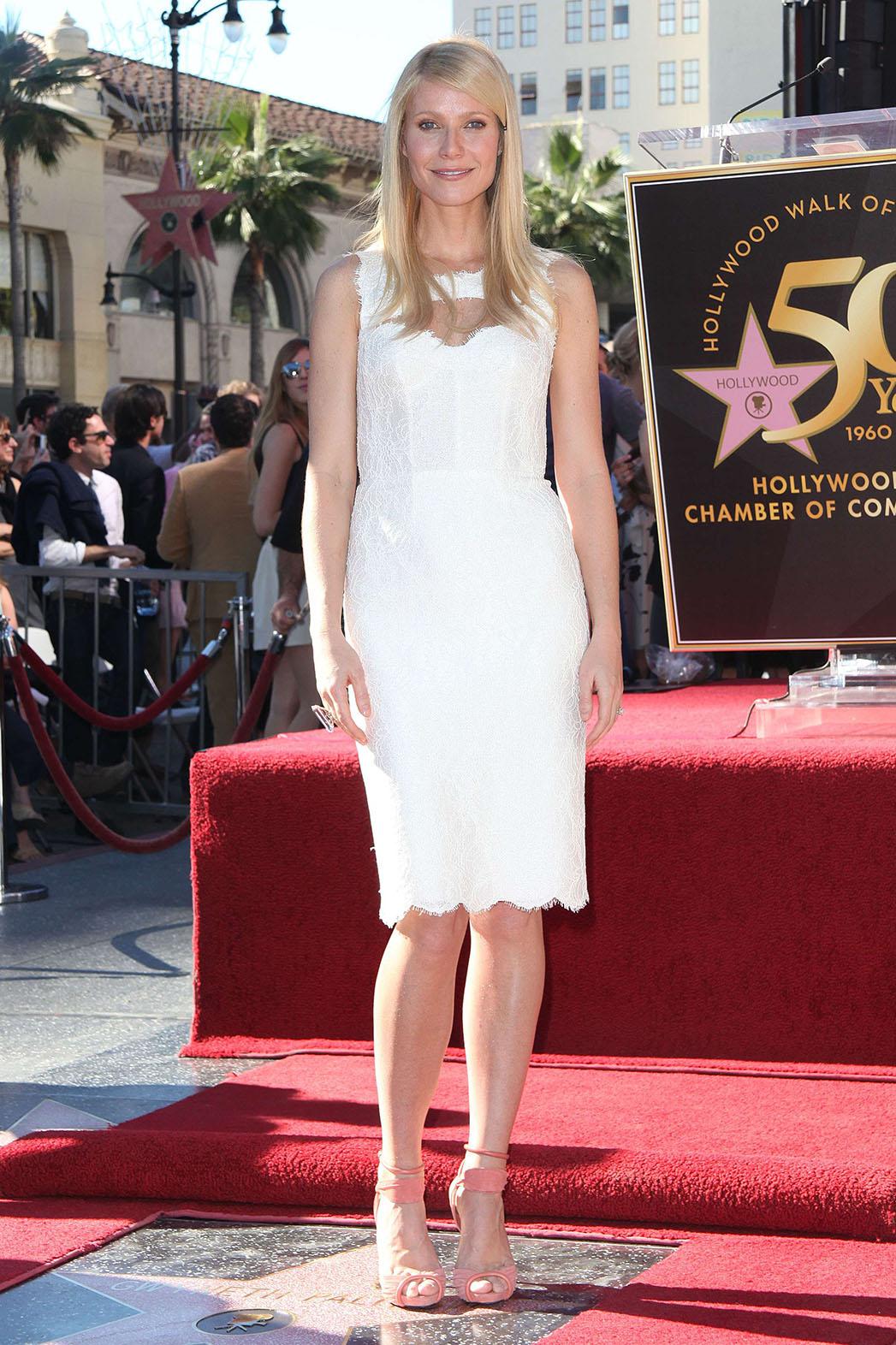 Gwyneth Paltrow Star Hollywood Walk of Fame - P 2014