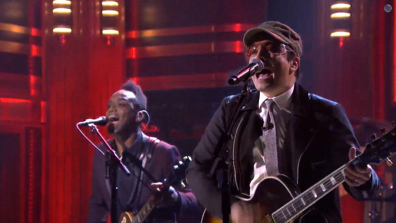 Jimmy Fallon The Roots U2 - H 2014