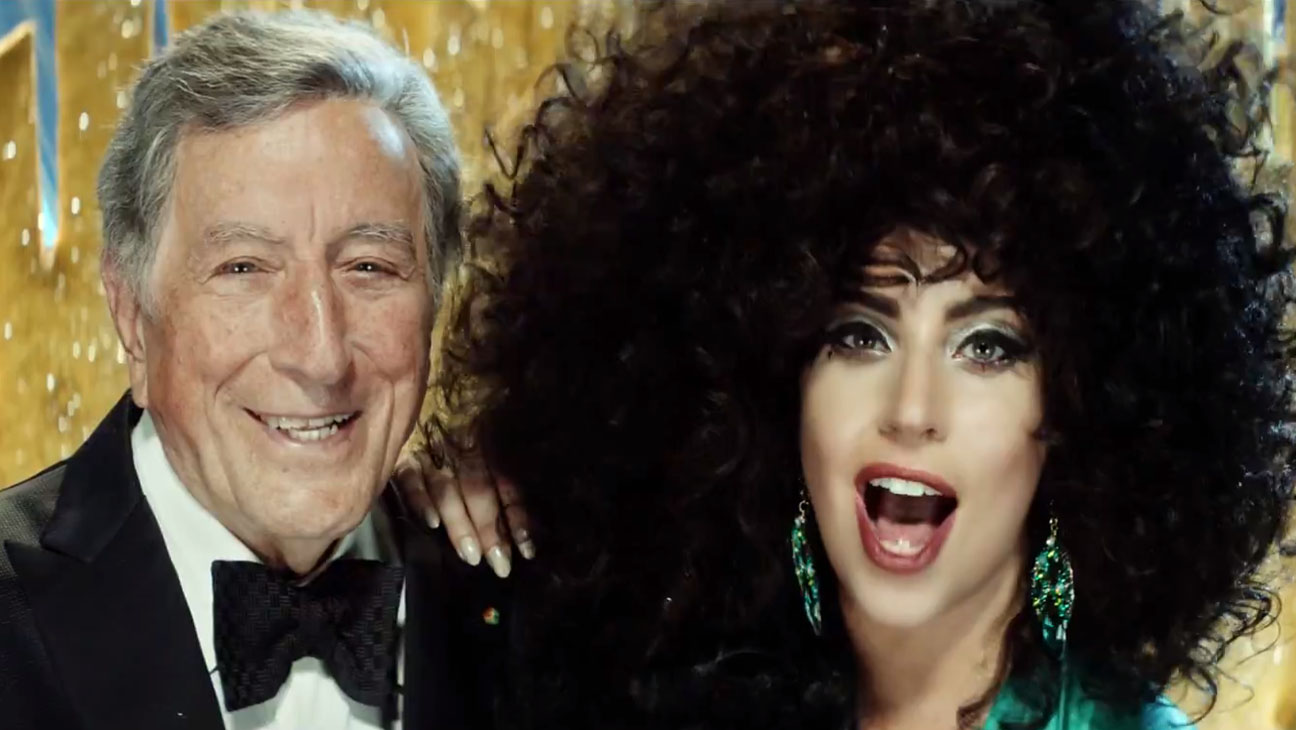 lady gaga and tony bennett for h&m - H 2014