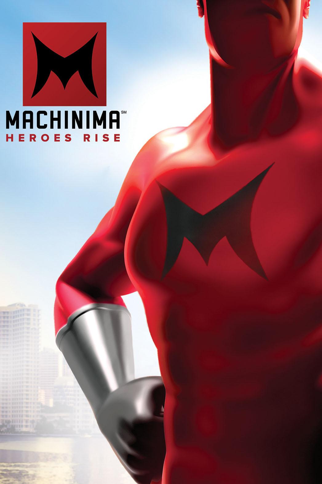 Machinima Heroes Rise Logo - P 2014