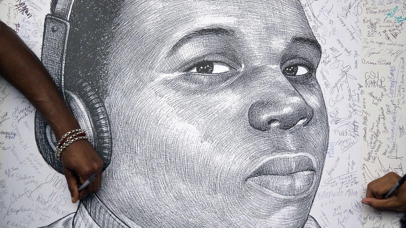 Michael Brown Sketch - H 2014