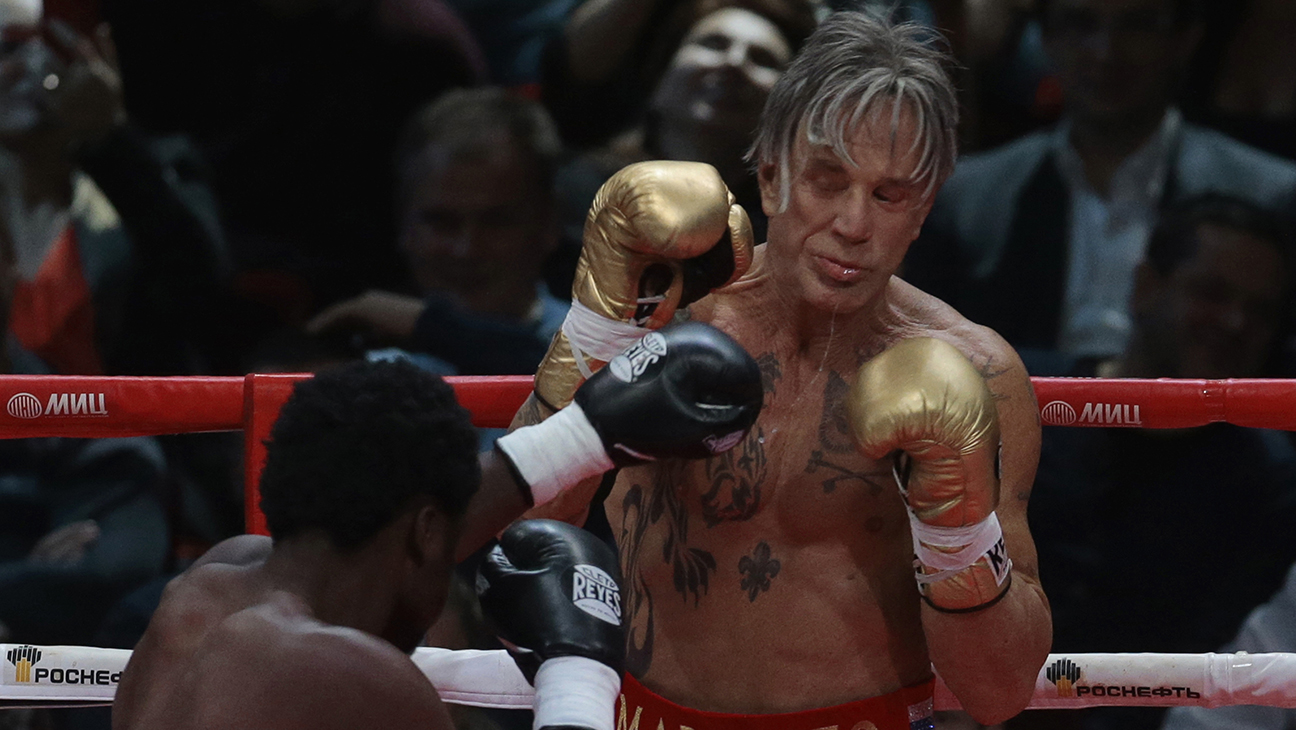 Mickey Rourke Boxing H 2014