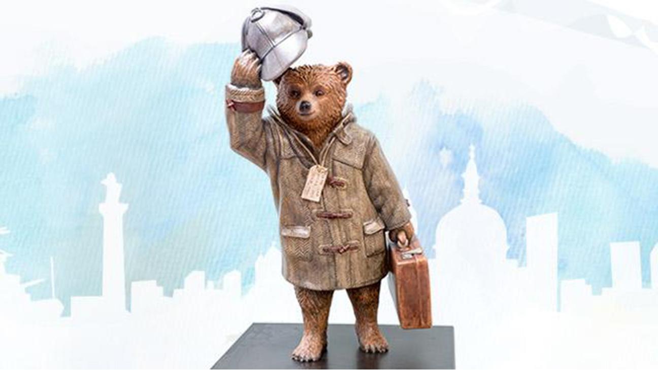 Paddington Bear designed by Benedict Cumberbatch