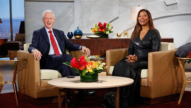 Bill Clinton Queen Latifah - H 2014