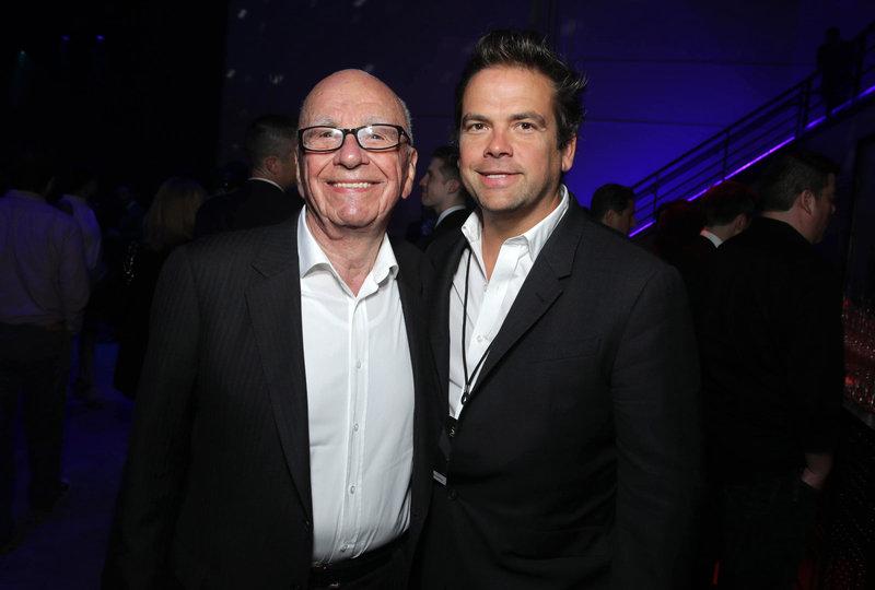 Rupert & Lachlan Murdoch H 2014