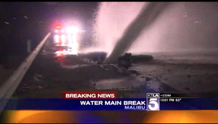 PCH Water Main Break H 2014