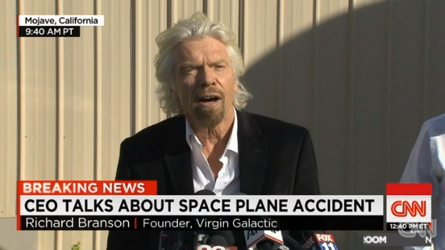 Richard Branson Virgin Galactic - H 2014