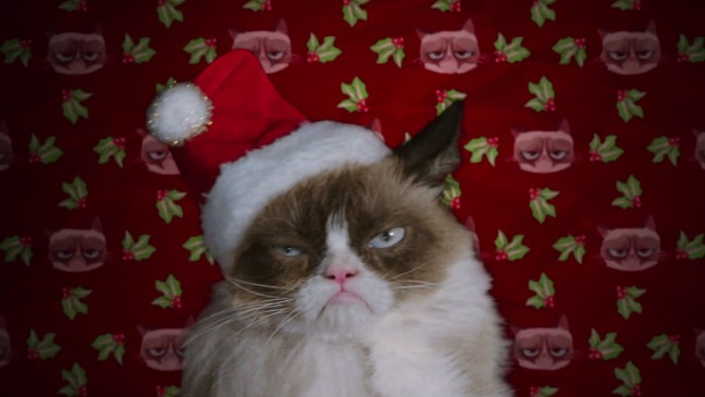 Grumpy Cat's Worst Christmas Ever Still - H 2014