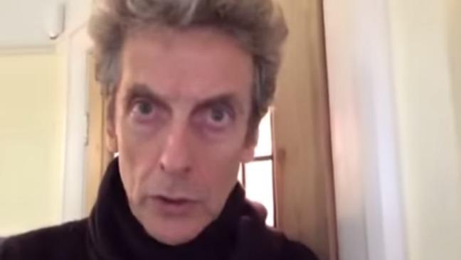 Peter Capaldi Video Message Still - H 2014