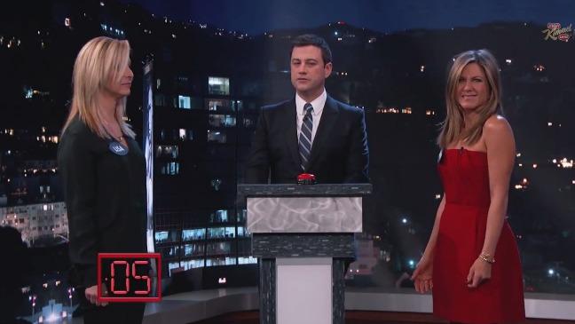 Jennifer Aniston Lisa Kudrow Kimmel Still - H 2014