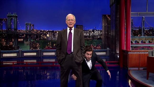 Jake Gyllenhaal Late Show - H 2014