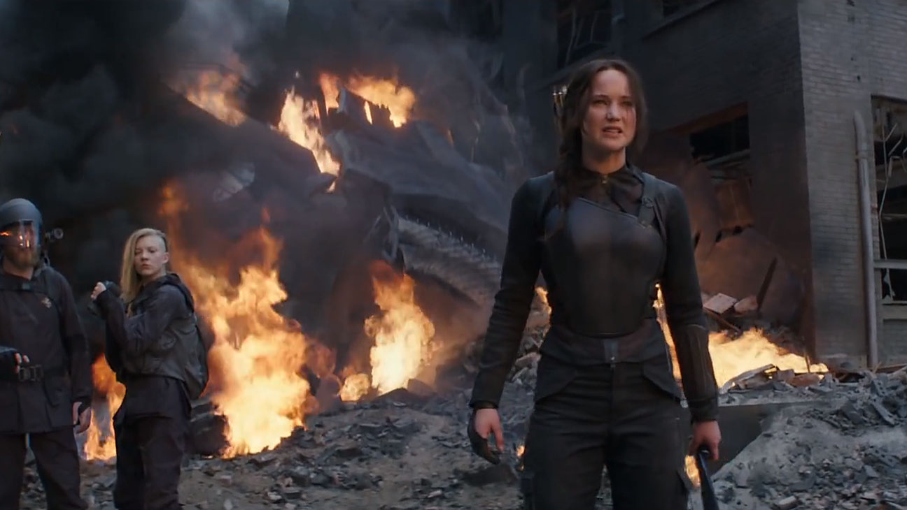 The Hunger Games Mockingjay Part 1 Still 8 - H 2014