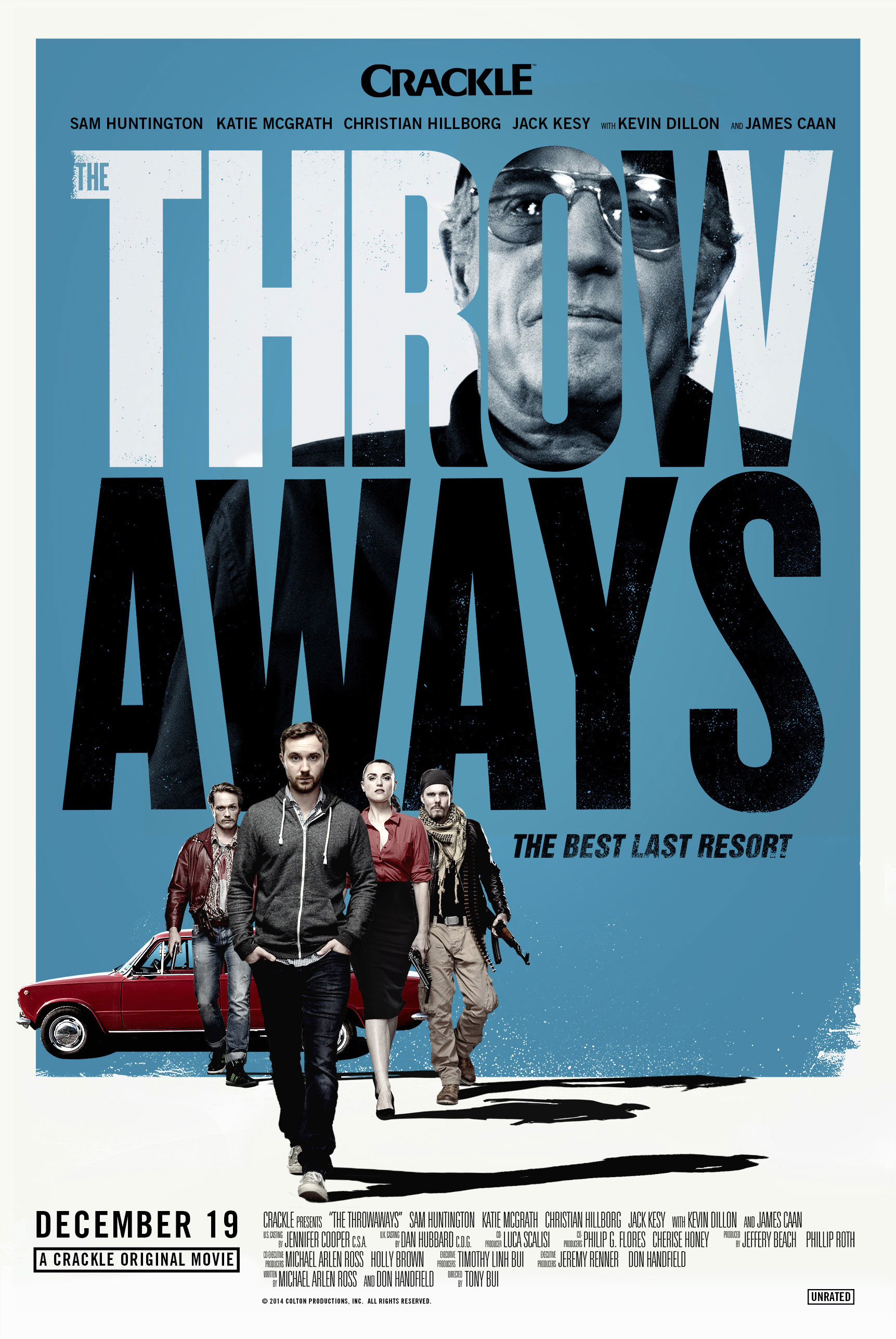 The Throwaways Key Art - P 2014