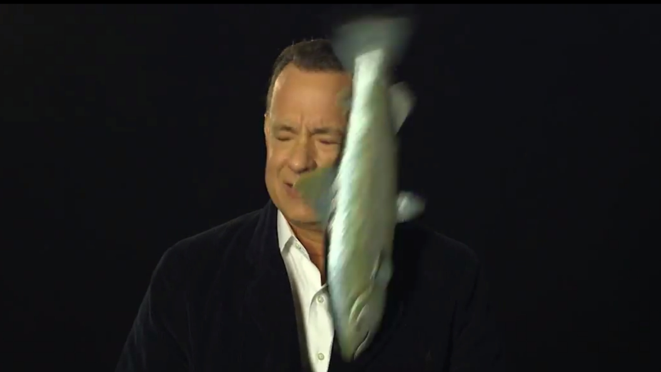 Tom Hanks Salmon Slap - H - 2014