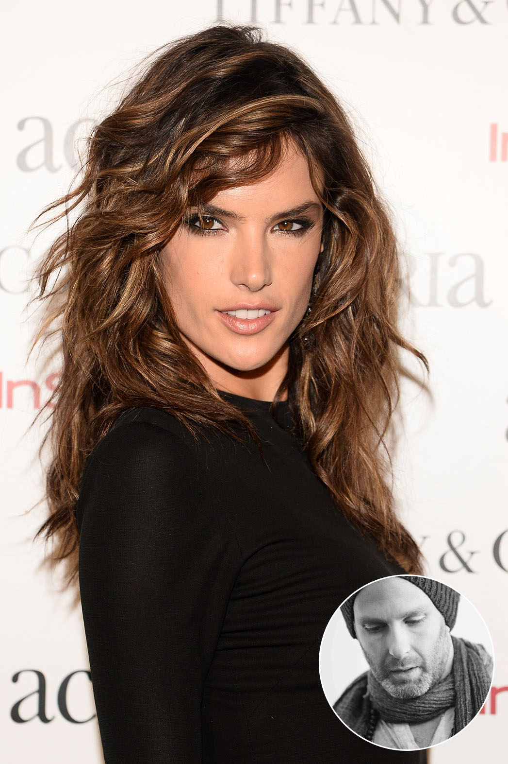 Alessandra Ambrosio Messy Hair Inset - P 2014