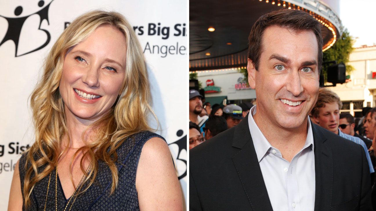 Anne Heche and Rob Riggle Split - H 2014