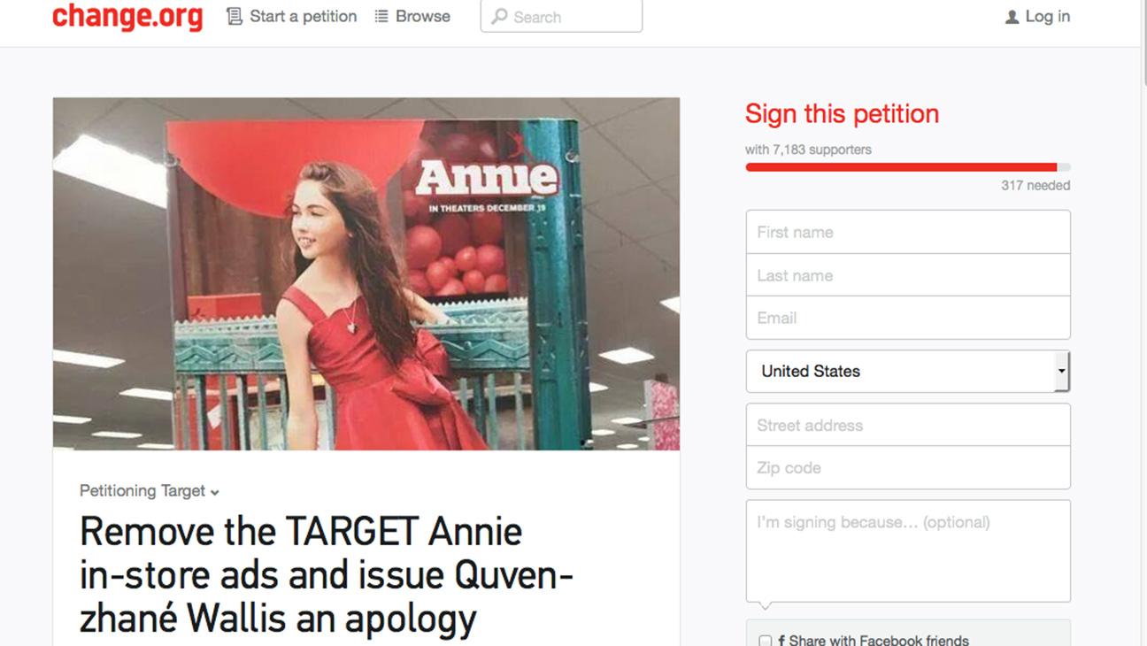 Annie petition - H 2014