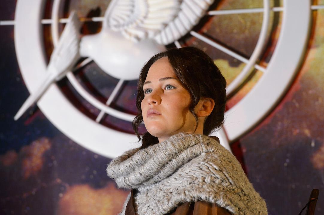 Katniss Waxwork H 2014