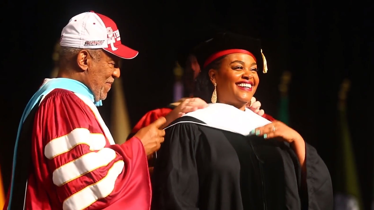 Bill Cosby and Jill Scott Temple University - H 2014