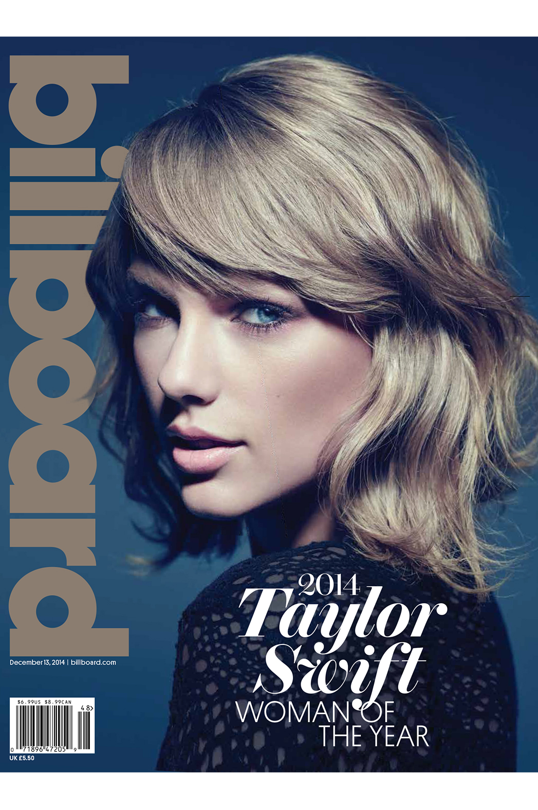Billboard Taylor Swift cover P