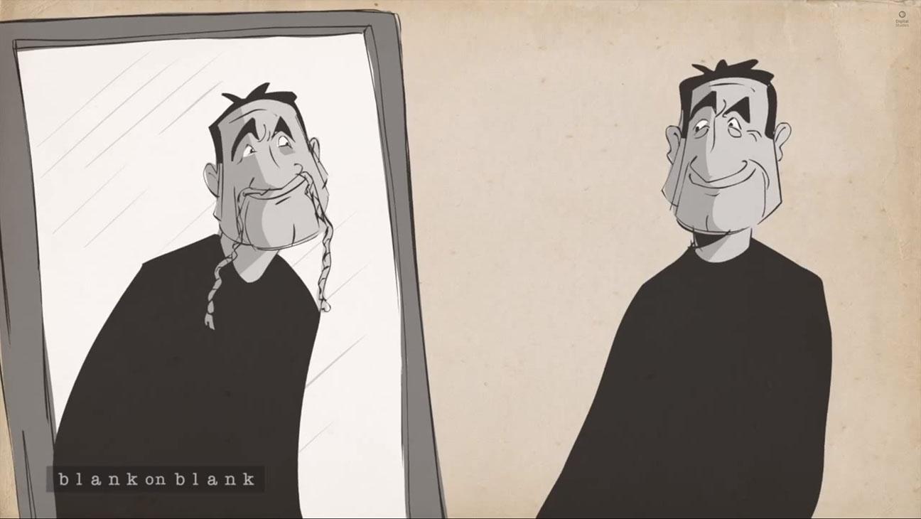 Blank on Blank Robin Williams Masks Still - H 2014