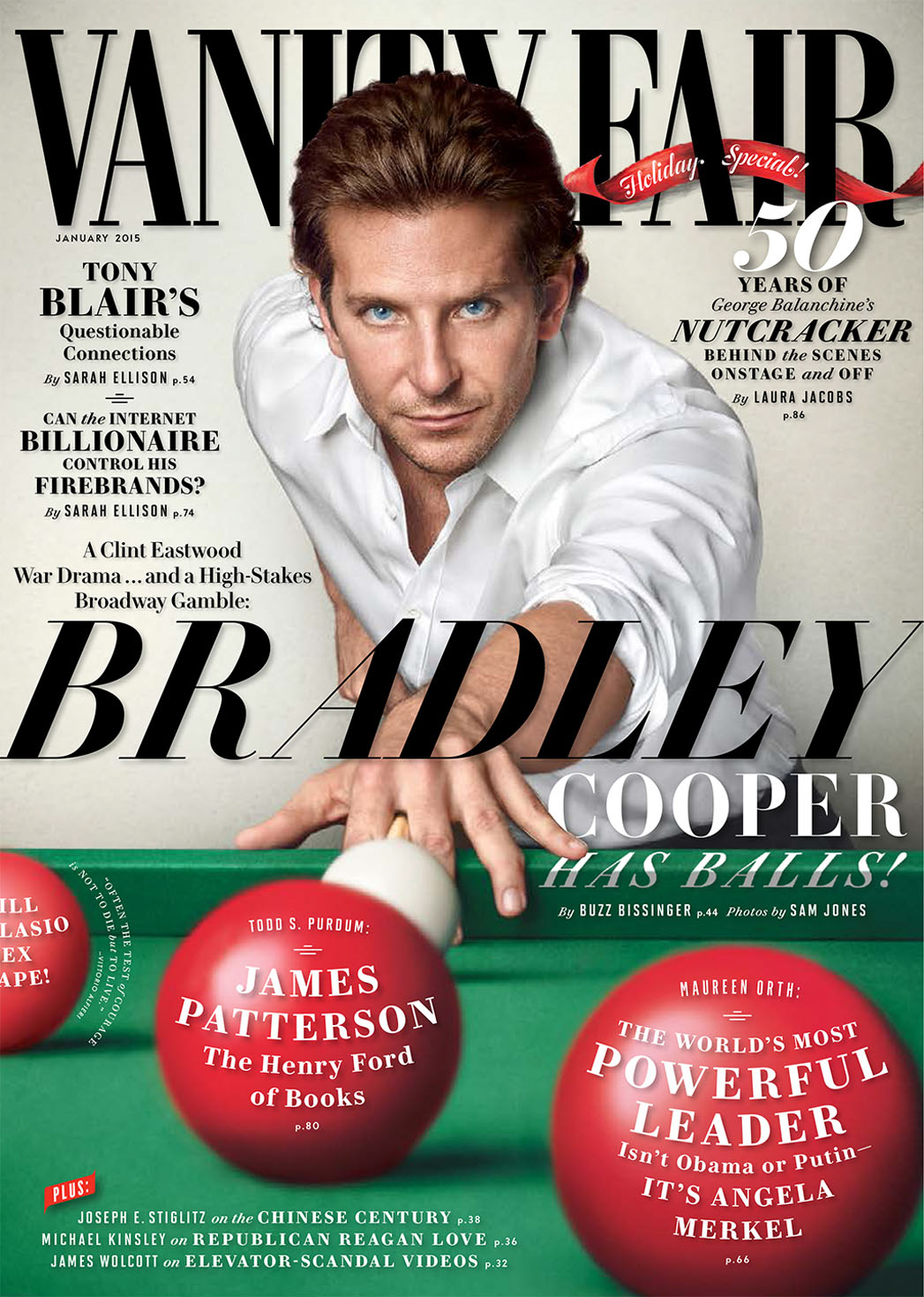 Bradley Cooper Vanity Fair - P 2014