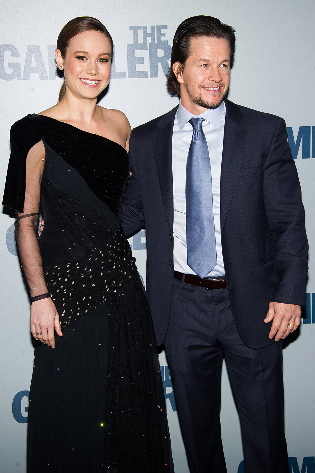 Brie Larson Mark Wahlberg The Gambler NYC Premiere P 2014