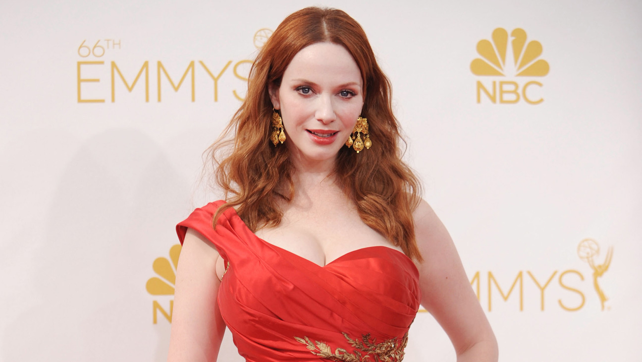 Christina Hendricks Horizontal - H 2014