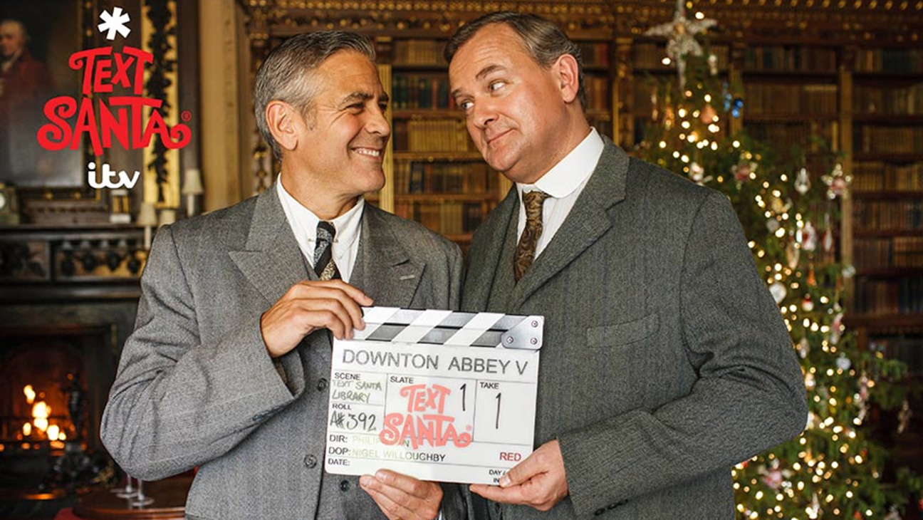 George Clooney in Downton Abbey