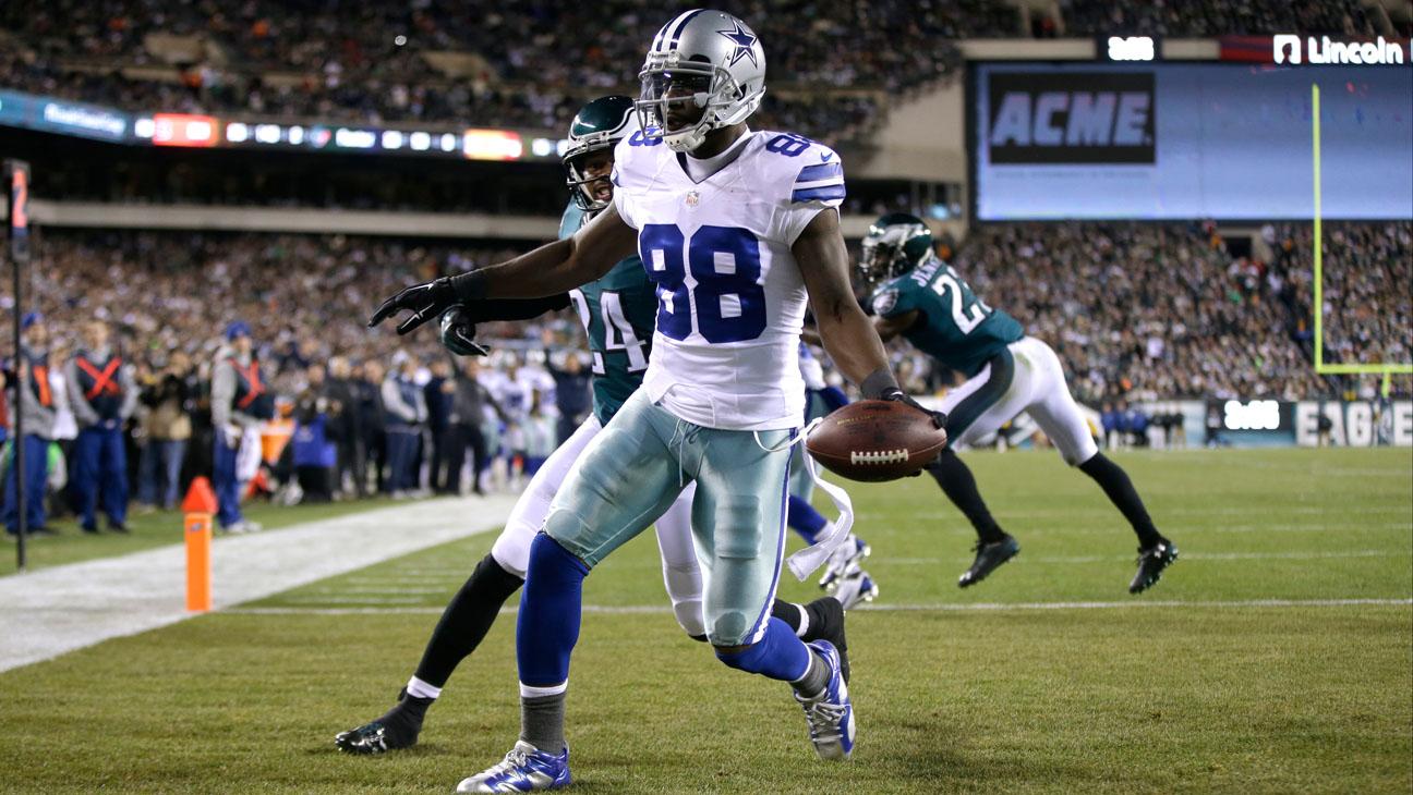 Cowboys Eagles Dez Bryant - H 2014