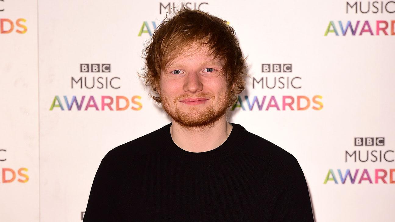 Ed Sheeran BBC Music Awards - H 2014