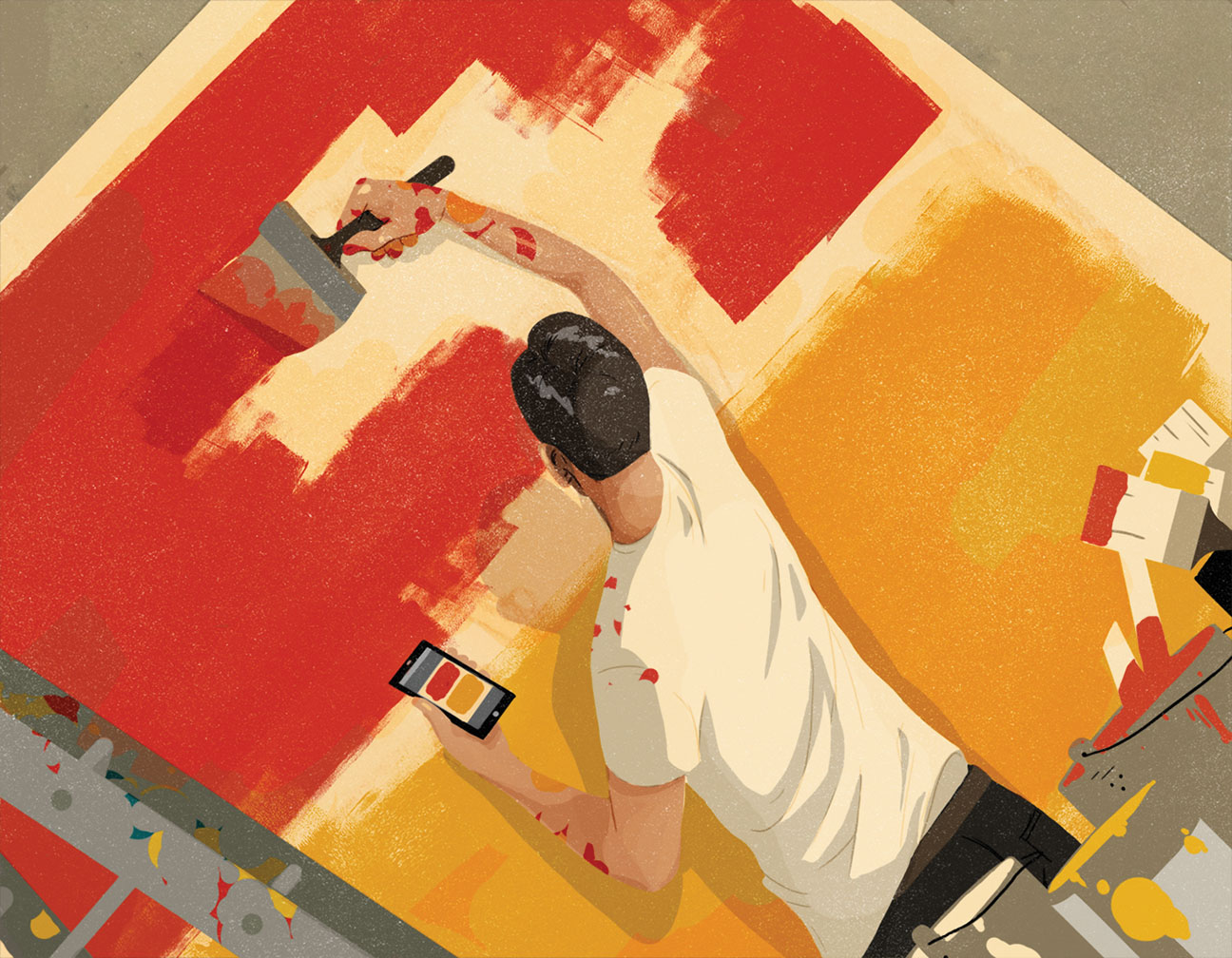 Art World Forgery Illo - H 2014