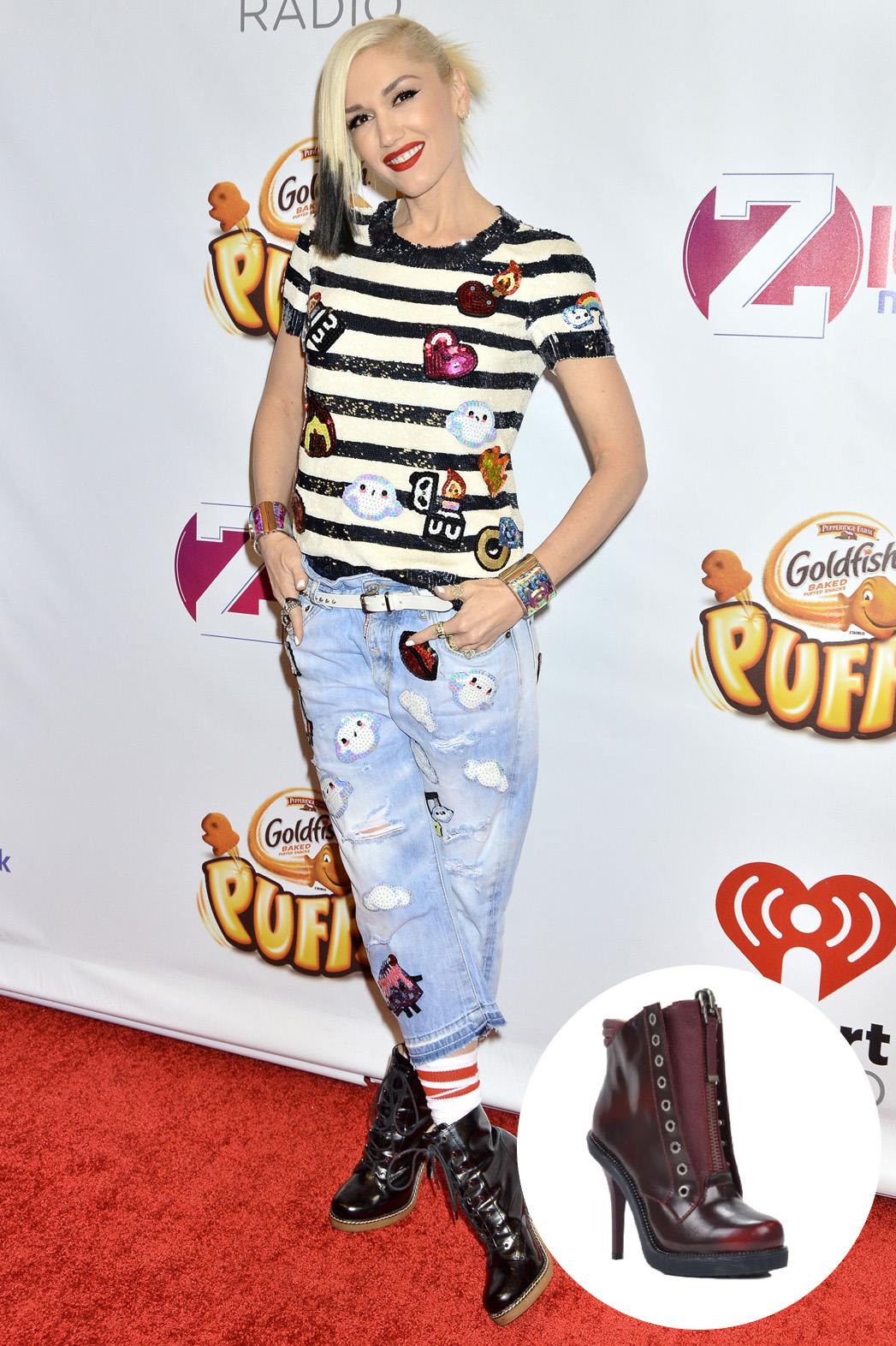 Gwen Stefani Shoe Inset - P 2014