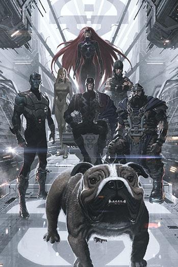 Inhumans Cover - P 2014