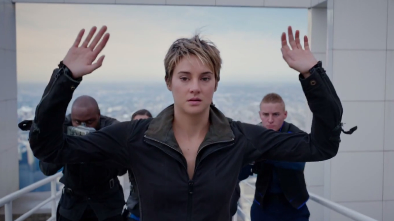 Tris in Insurgent Trailer Still - H 2014