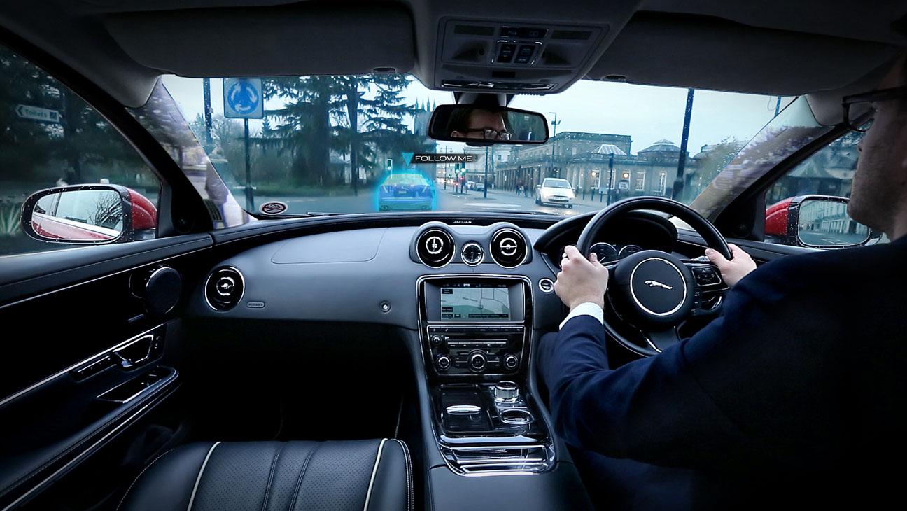 Jaguar Land Rover Interior Technology - H 2014