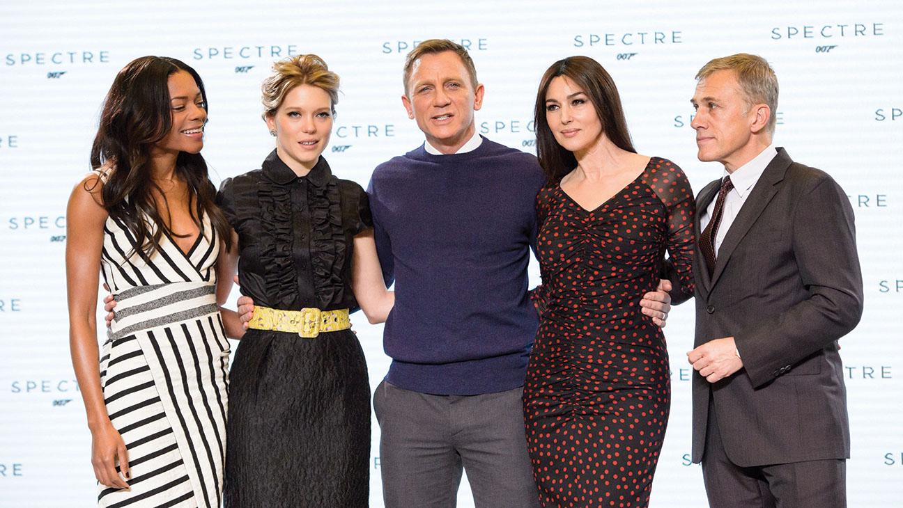 James Bond Spectre Cast - H 2014