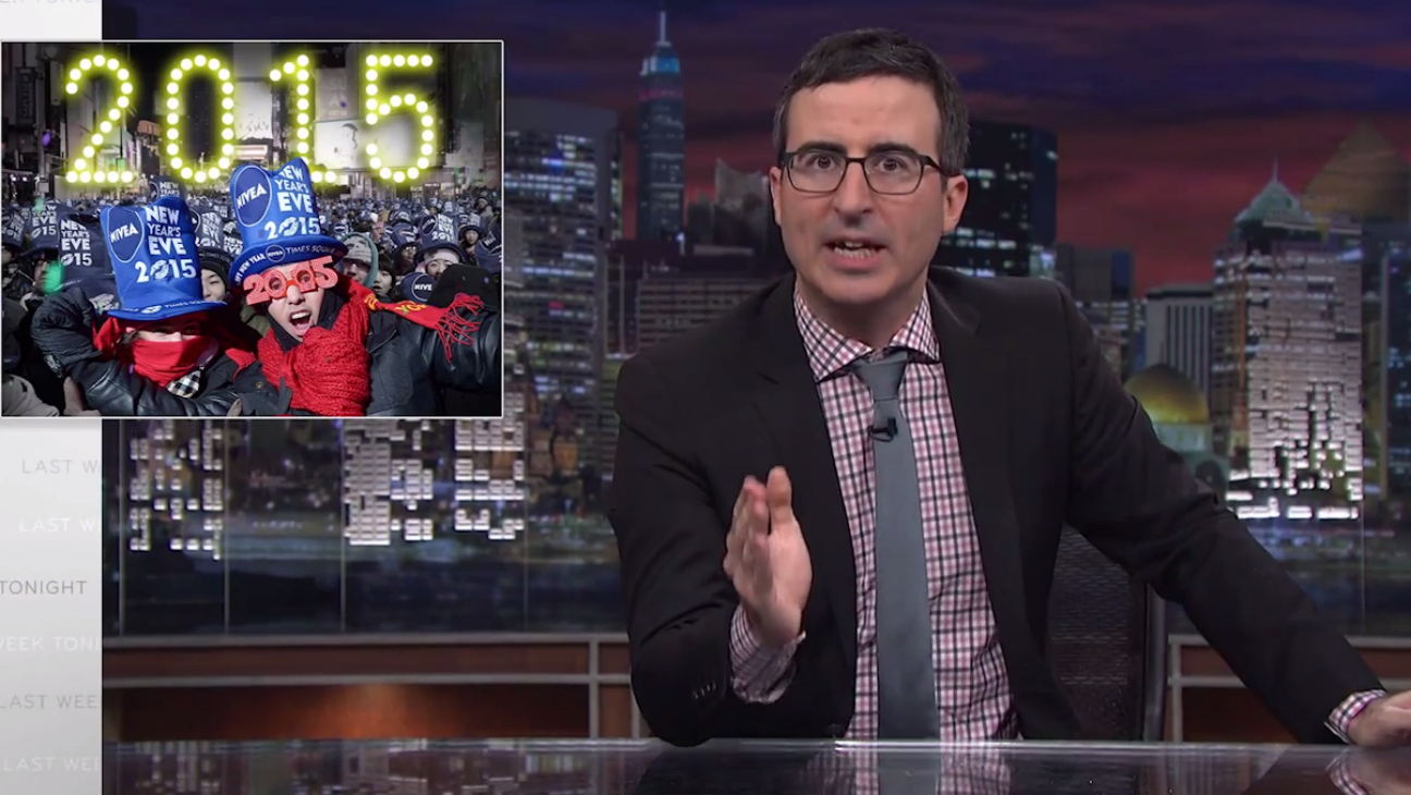 John Oliver Rants Against New Year's Eve -H 2014