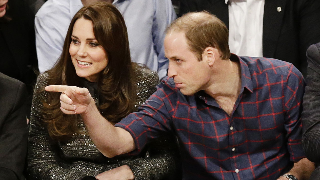 Kate Middleton and Prince William - H 2014