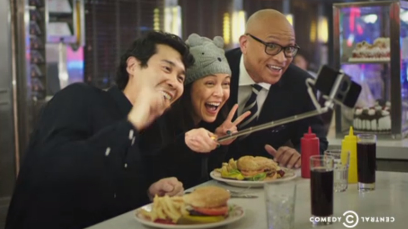 Larry Wilmore Nightly Show Promo Still - H 2014