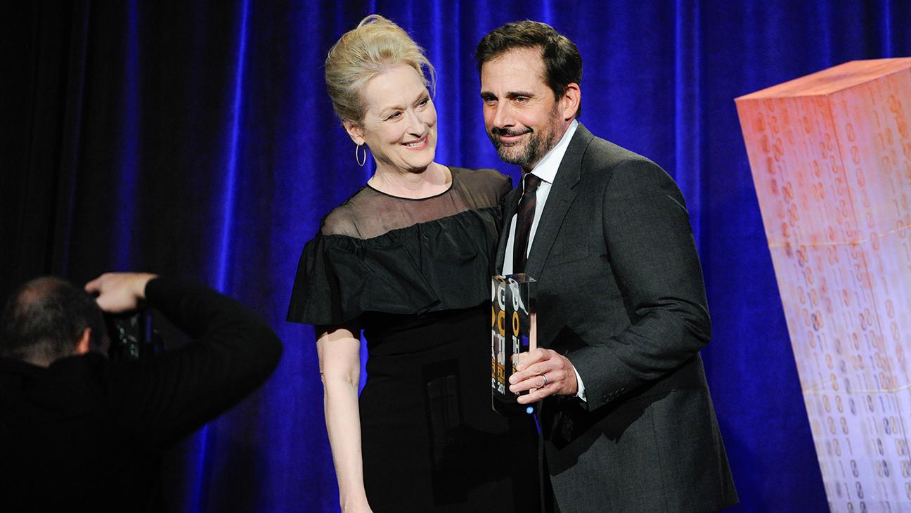Meryl Streep Steve Carell Gotham Awards H 2014