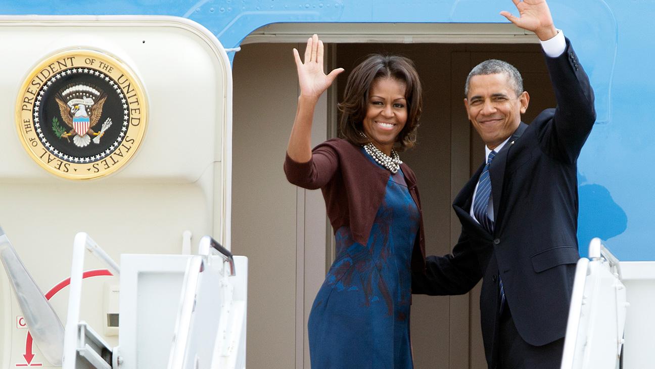 Michelle Obama Barack Obama - H 2014