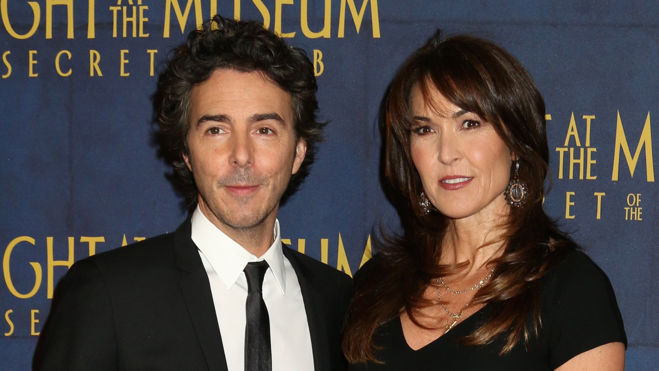 Shawn Levy, Susan Schneider at the 'Night at the Museum: Secret of the Tomb' premiere - H 2014