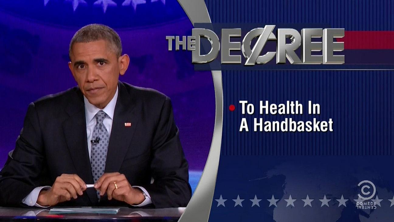 Obama Colbert Report - H 2014