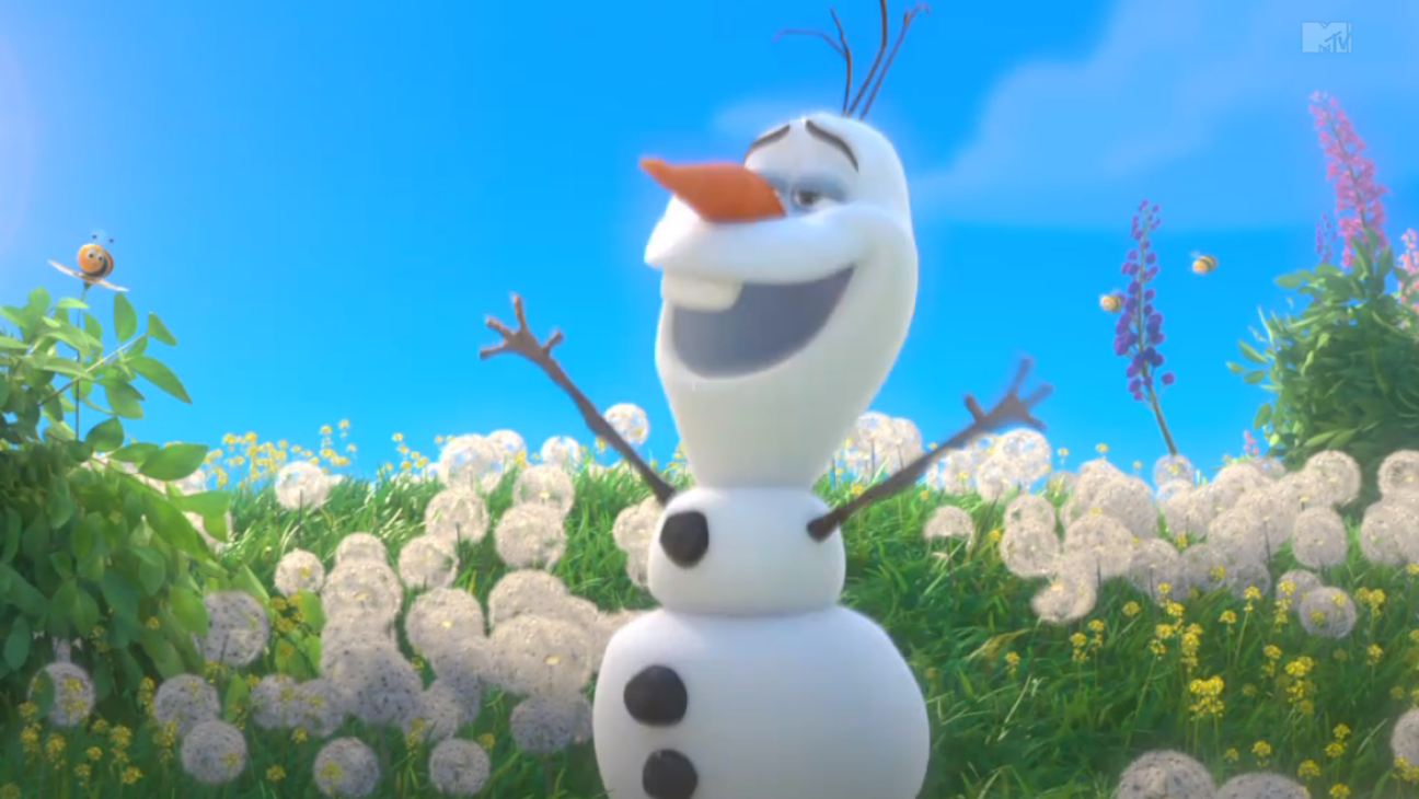 Olaf Singing in Frozen - H 2014