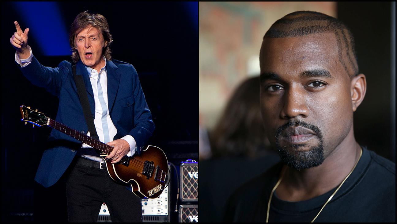 Paul McCartney Kanye West split H