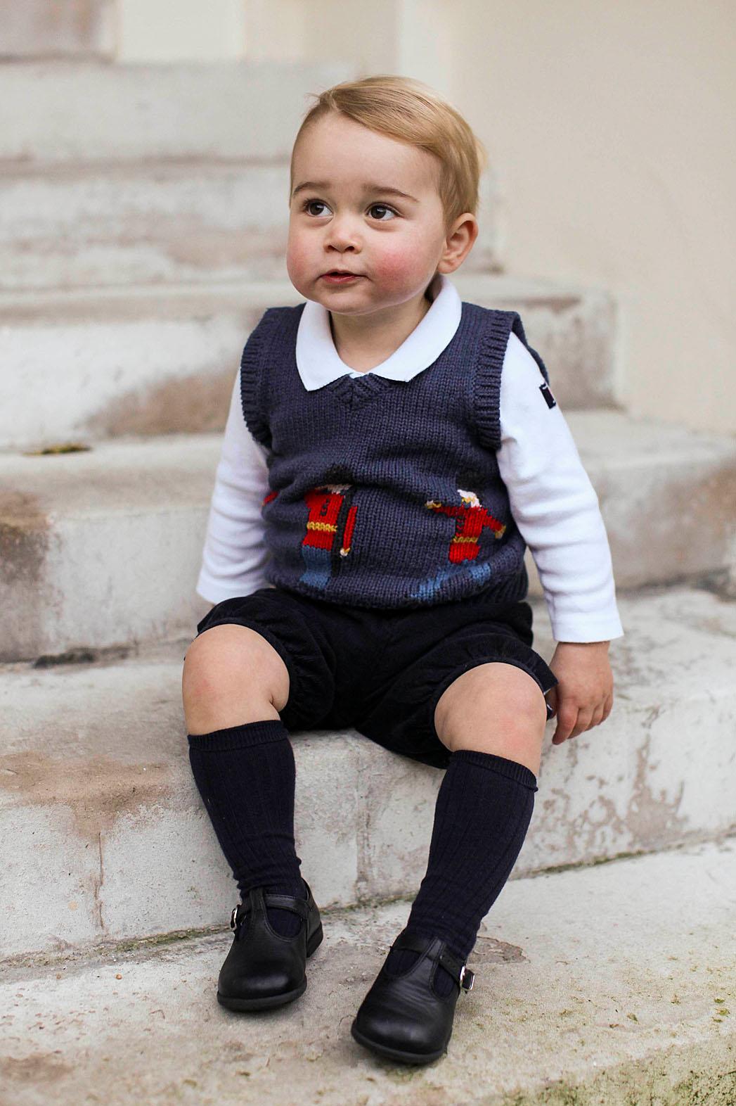 Prince George Christmas Photos - P 2014